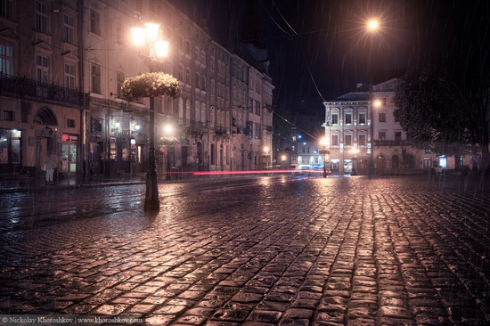 One evening in Lviv after the rain, Ukraine, photo 8