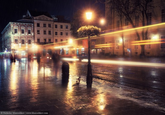 One evening in Lviv after the rain, Ukraine, photo 9