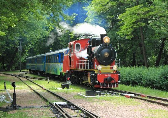 Children's Railway in Kyiv, Ukraine, photo 10
