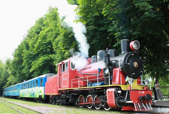 Children's Railway in Kyiv, Ukraine, photo 11