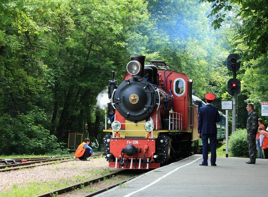 Children's Railway in Kyiv, Ukraine, photo 12