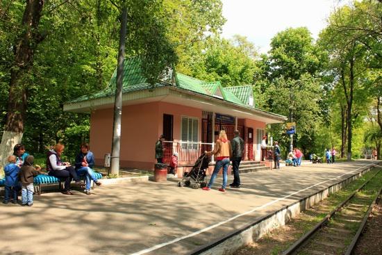 Children's Railway in Kyiv, Ukraine, photo 2
