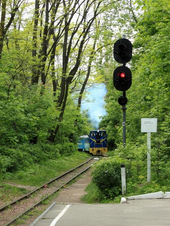 Children's Railway in Kyiv, Ukraine, photo 3