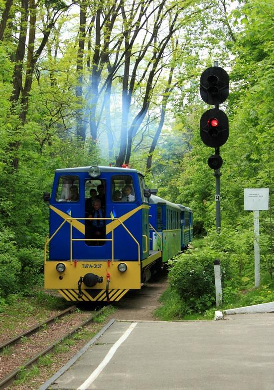 Children's Railway in Kyiv, Ukraine, photo 4