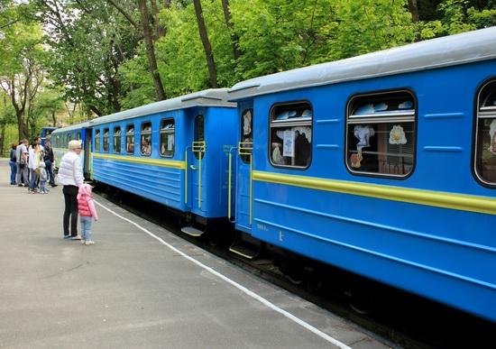 Children's Railway in Kyiv, Ukraine, photo 5