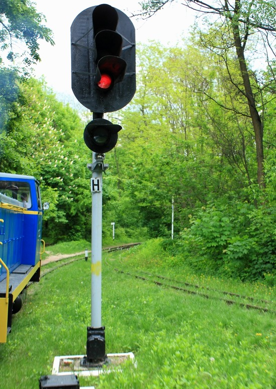 Children's Railway in Kyiv, Ukraine, photo 6