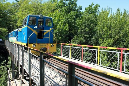 Children's Railway in Kyiv, Ukraine, photo 7