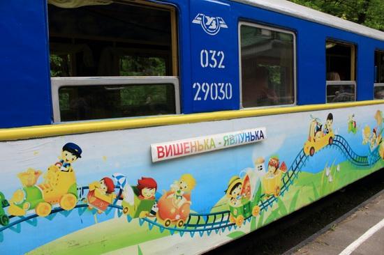 Children's Railway in Kyiv, Ukraine, photo 9