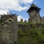 The picturesque ruins of Nevytsky Castle