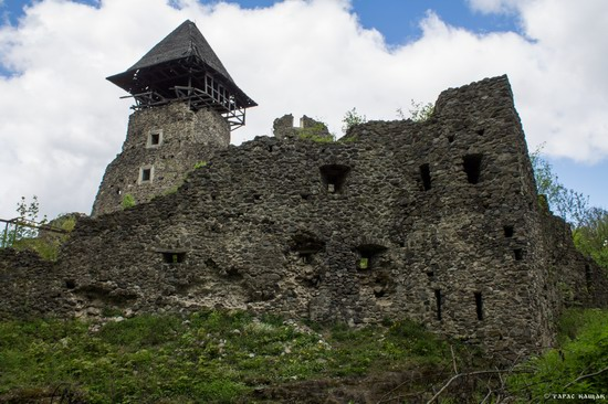 The ruins of Nevytsky Castle, Zakarpattia region, Ukraine, photo 10