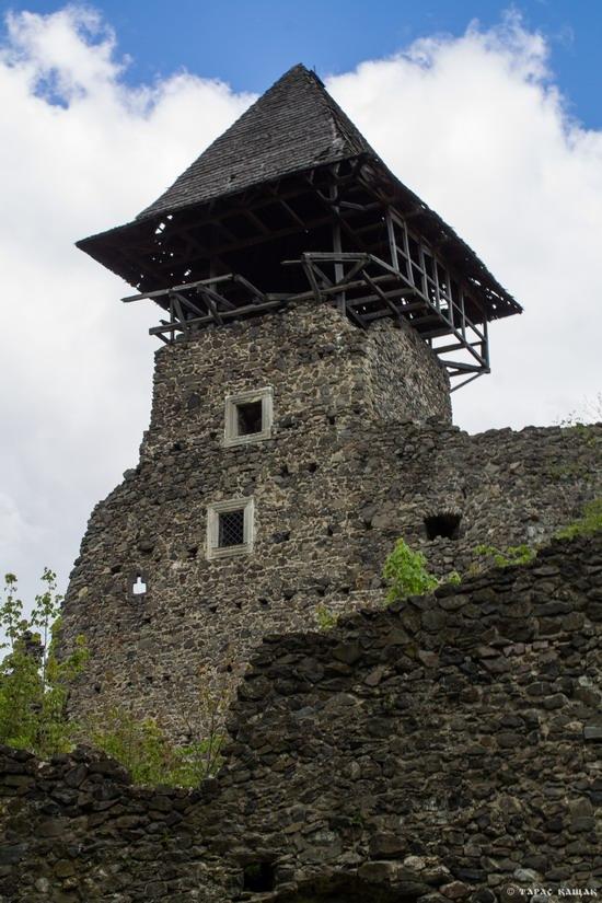 The ruins of Nevytsky Castle, Zakarpattia region, Ukraine
