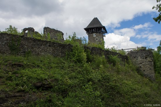 The ruins of Nevytsky Castle, Zakarpattia region, Ukraine, photo 12