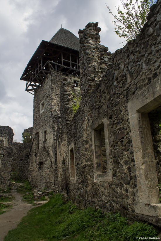 The ruins of Nevytsky Castle, Zakarpattia region, Ukraine, photo 13