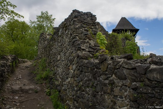 The ruins of Nevytsky Castle, Zakarpattia region, Ukraine, photo 6
