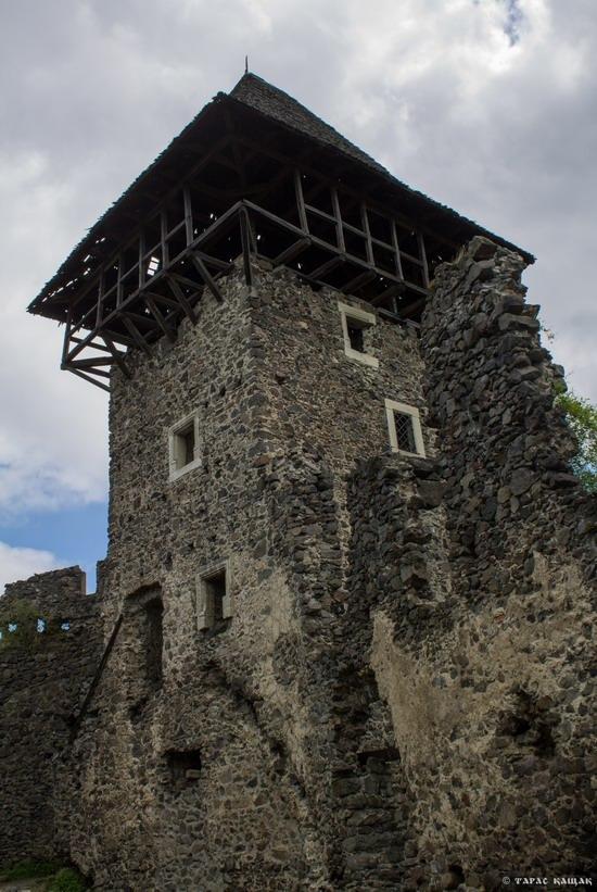 The ruins of Nevytsky Castle, Zakarpattia region, Ukraine, photo 9