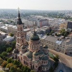 Aerial views of Kharkiv – the largest city in northeastern Ukraine