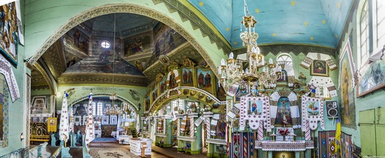 Church of St. Michael the Archangel in Lahodiv, Lviv region, Ukraine, photo 10