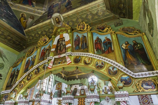 Church of St. Michael the Archangel in Lahodiv, Lviv region, Ukraine, photo 11