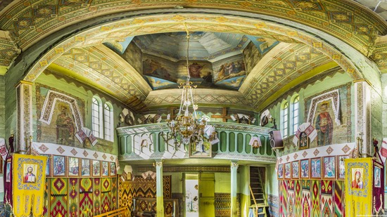 Church of St. Michael the Archangel in Lahodiv, Lviv region, Ukraine, photo 13