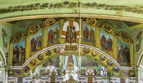 Church of St. Michael the Archangel in Lahodiv, Lviv region, Ukraine, photo 14