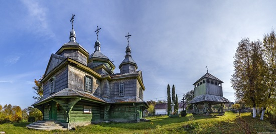 Church of St. Michael the Archangel in Lahodiv, Lviv region, Ukraine, photo 7