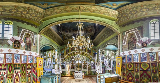 Church of St. Michael the Archangel in Lahodiv, Lviv region, Ukraine, photo 8