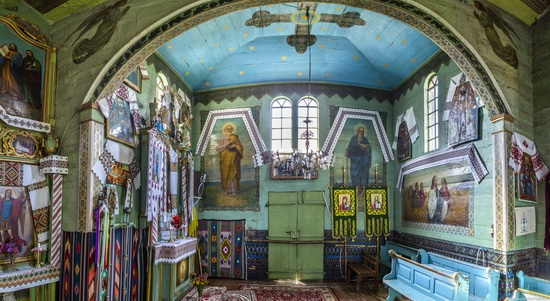 Church of St. Michael the Archangel in Lahodiv, Lviv region, Ukraine, photo 9