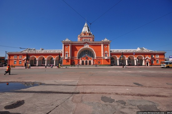 Chernihiv railway station, Ukraine, photo 1