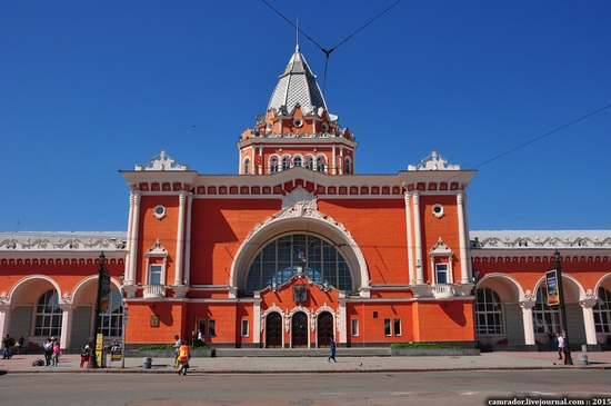 Chernihiv railway station, Ukraine, photo 3