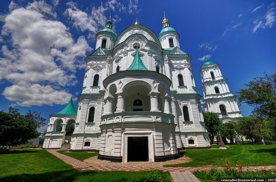 The churches of Kozelets, Chernihiv region, Ukraine, photo 1