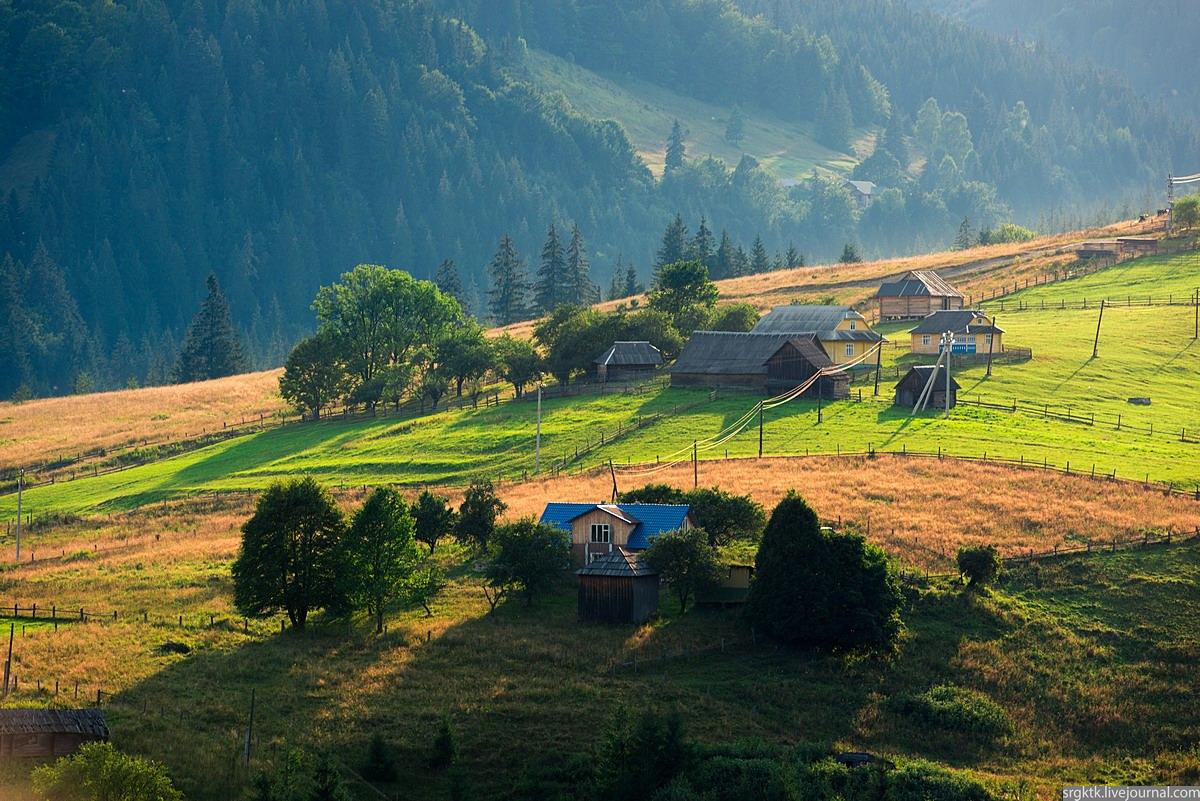 Dzembronya – the most high-altitude village in Ukraine · Ukraine travel blog