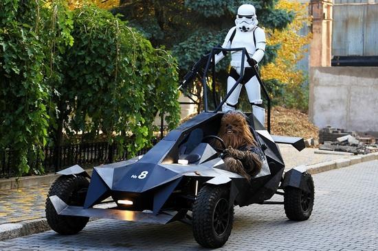 Darth Vader monument, Odessa, Ukraine, photo 2