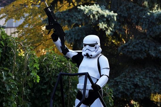 Darth Vader monument, Odessa, Ukraine, photo 3