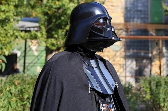 Darth Vader monument, Odessa, Ukraine, photo 7