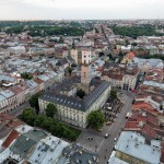 Lviv – the view from above