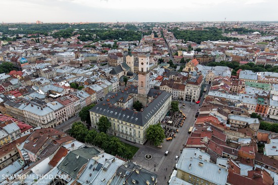 Lviv - the view from above, Ukraine, photo 1