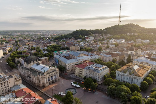 Lviv - the view from above, Ukraine, photo 10