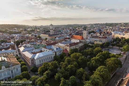 Lviv - the view from above, Ukraine, photo 11