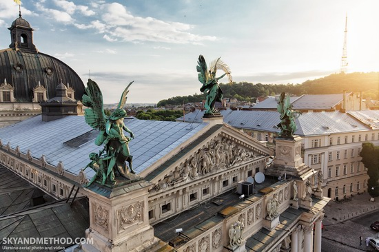 Lviv - the view from above, Ukraine, photo 12