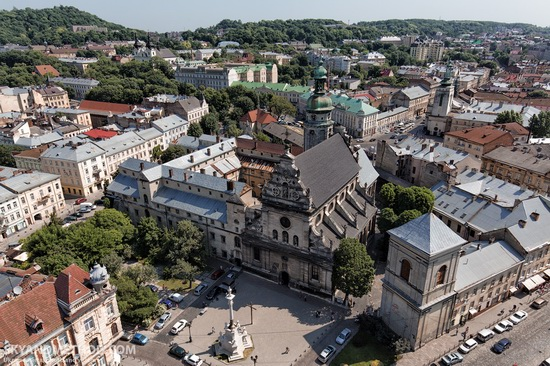 Lviv - the view from above, Ukraine, photo 14
