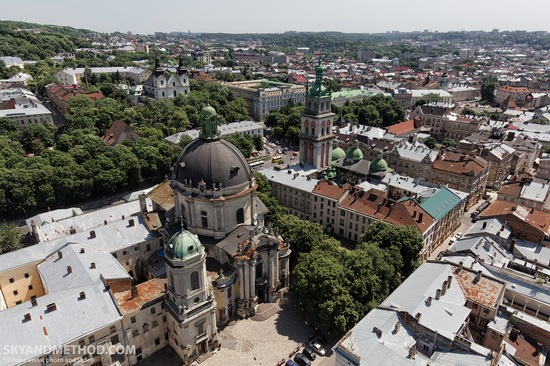 Lviv - the view from above, Ukraine, photo 15