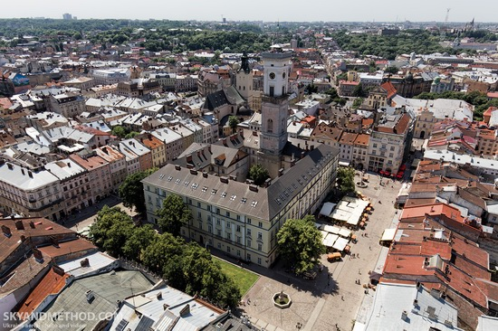 Lviv - the view from above, Ukraine, photo 16