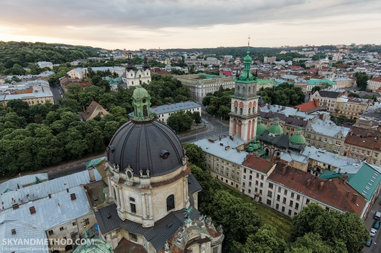 Lviv - the view from above, Ukraine, photo 2