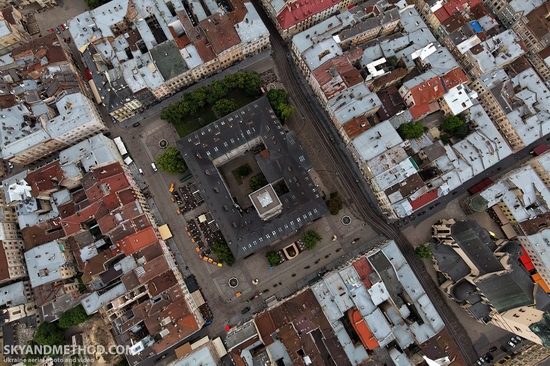 Lviv - the view from above, Ukraine, photo 4