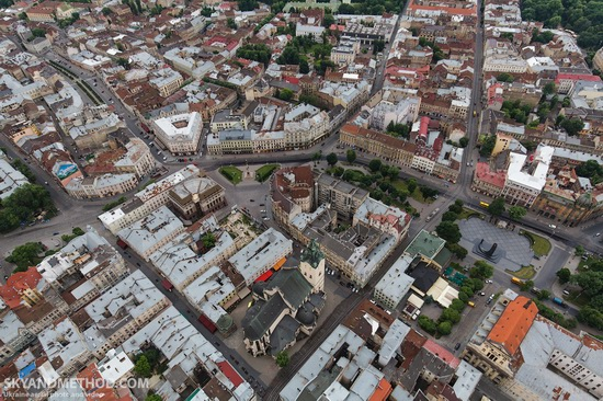 Lviv - the view from above, Ukraine, photo 5