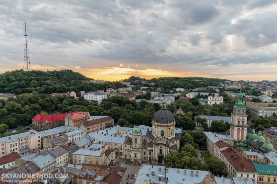 Lviv - the view from above, Ukraine, photo 7