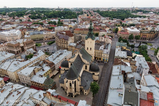 Lviv - the view from above, Ukraine, photo 8