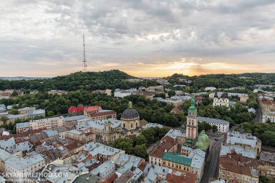 Lviv - the view from above, Ukraine, photo 9