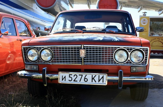 Old Car Fest 2015 in Kyiv, Ukraine, photo 2
