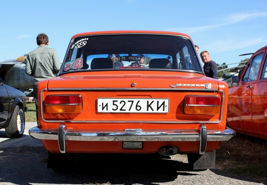 Old Car Fest 2015 in Kyiv, Ukraine, photo 4